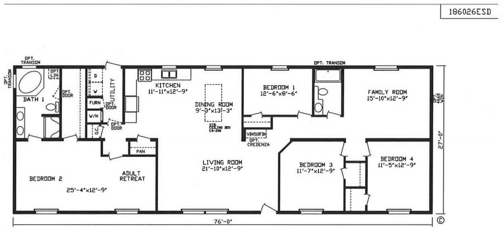 GS Courtyard Homes - Floor Plan - The Goldberg