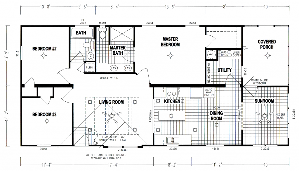 GS Courtyard Homes - Floor Plan - The Indy - Standard