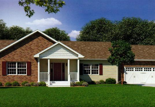 GS Courtyard Homes - Floor Plan - The Westwood - Elevation