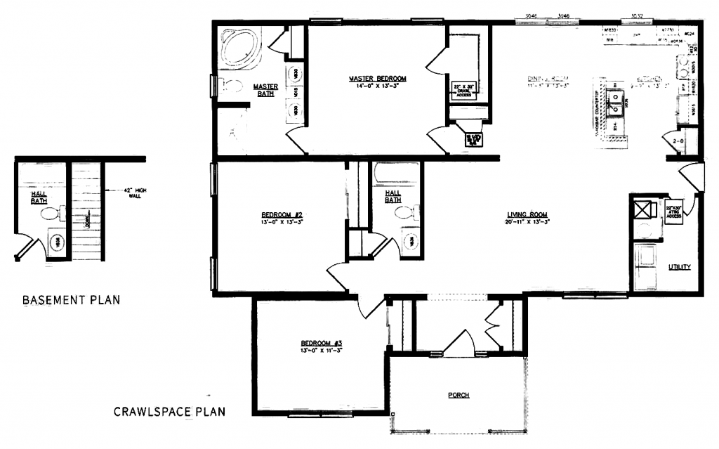 GS Courtyard Homes - Floor Plan - The Westwood - Standard