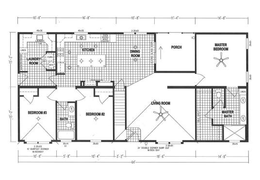 GS Courtyard Homes - Floor Plan - The Hillcrest 7866 thumb