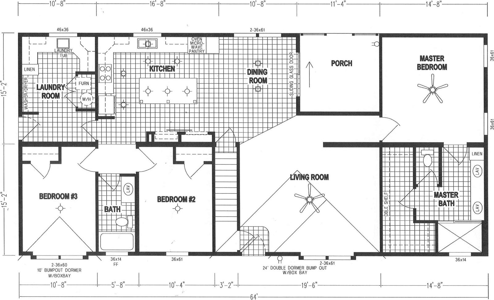 GS Courtyard Homes - Floor Plan - The Hillcrest 7866